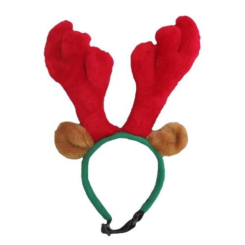 Outward Hound 30027 Antlers Pet Headband, Small