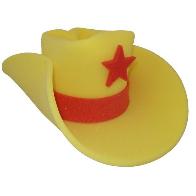 30 Gallon Giant Foam Cowboy Hat (Choose Your Color)