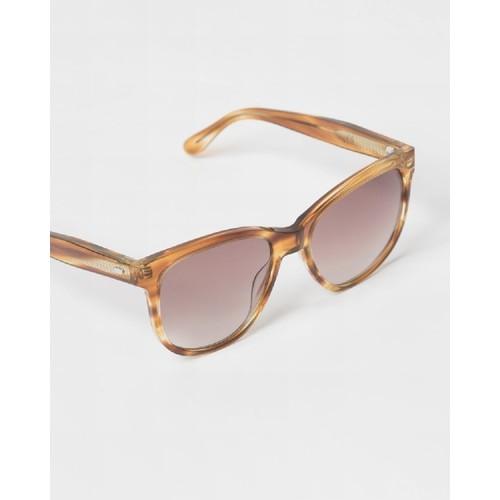 Ahnah Women's Ary Light Tortoise Frame Sunglasses Light Tortoise One Size