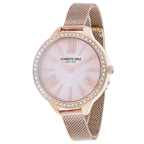 Kenneth Cole Women's Classic Rose Gold Dial Watch - KC50939002