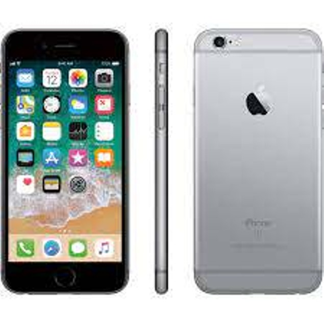 Apple iPhone 6S 128GB Bundle (Tempered Glass, Charger, Case, OEM Box)