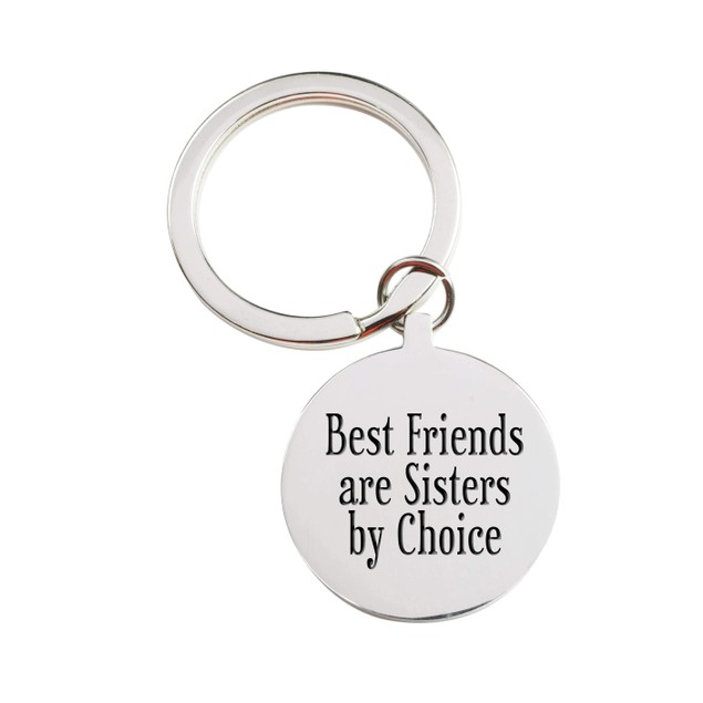 Stainless Steel Inspirational Keychain - 30 Quotes