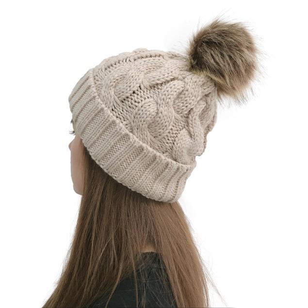 Women's Woolen Caps Keep Warm And Versatile