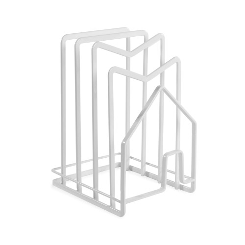 Countertop Organisation Rack | MandW White