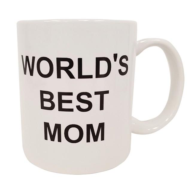 World's Best MOM 11 oz Coffee Mug