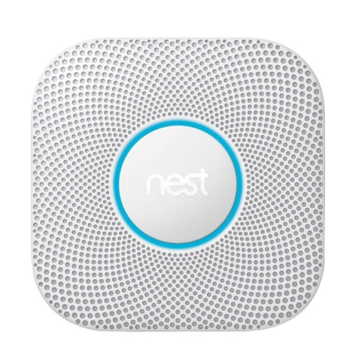 Google Nest Protect 2nd Gen S3003LWES Wired Alarm - White
