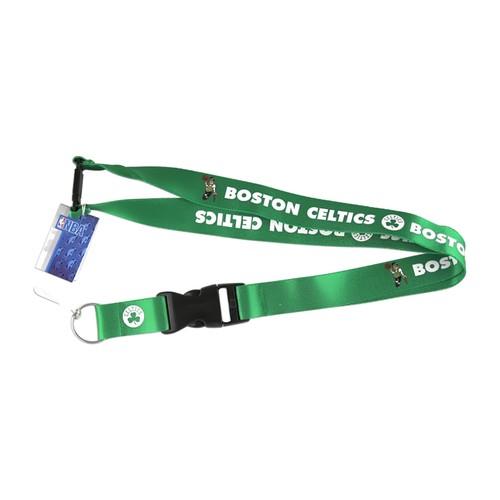 NBA Boston Celtics Clip Lanyard Keychain Id Holder Ticket - Green