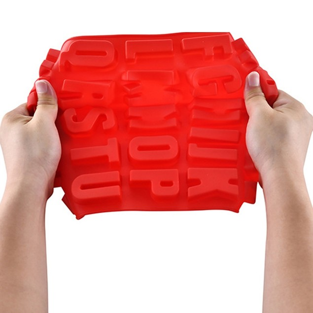 Alphabet Silicone Mold Cake Baking Utensils DIY