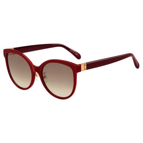 Givenchy Women Sunglasses GV7151FS 0LHF Burgundy 56 19 145 Cat Eye/Butterfly