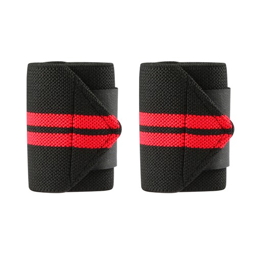 """2PCS Wrist Straps 15"""" Adjustable Unisex Wrist Support Braces with Thumb Loops"""