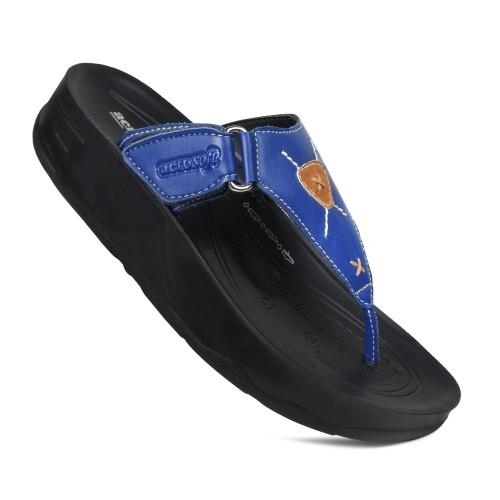 AEROSOFT Pyrim  Arch Supportive Adjustable Thong Strap Platform Sandals For Women