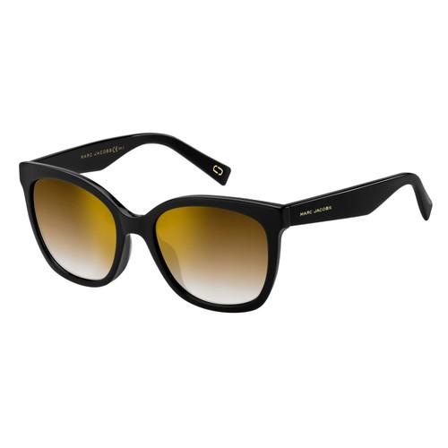 Marc Jacobs Women Sunglasses MARC309S 807 Black Square Gradient/Mirrored