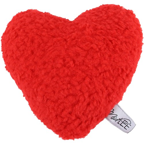 Midlee Plush Red Heart Valentine's Day Dog Toy (Large)