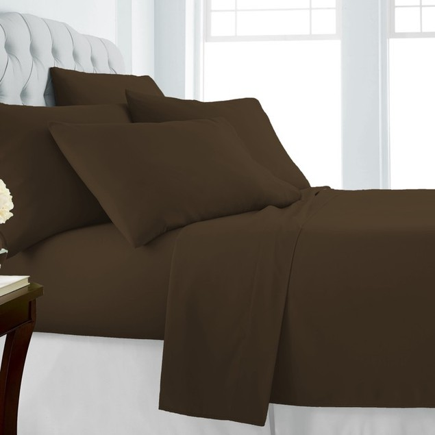 Olive & Twill Egyptian Comfort Sheet Set with 2 FREE Pillow Cases