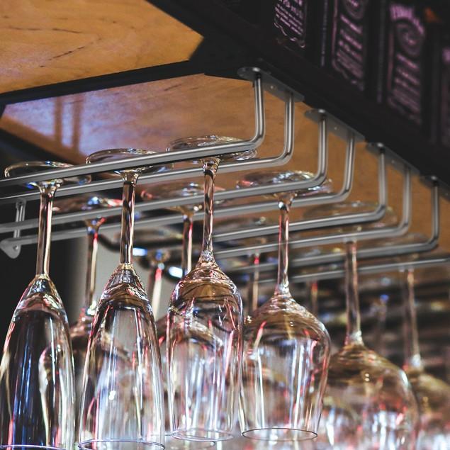 Set of 2 Cabinet Wine Glass Holders | MandW