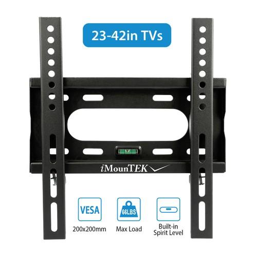 TV Wall Mount Dual Arm TV Mount Bracket For 23-42 In TVs