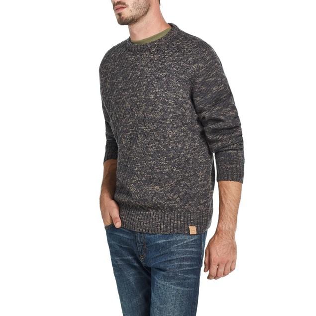 Weatherproof Vintage Men's Cross Stitch Sweater Brown Size 2 Extra Large
