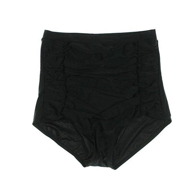 Unique Vintage Women's Monroe Bikini Bottom Black Small