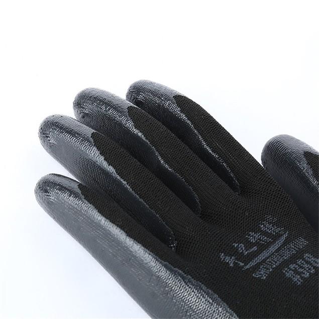 Wearable Coated Gloves Unisex Automotive Work Indoor Outdoor Use