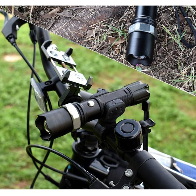 Usb Rechargeable Flashlight Cob Work Light Zoom Long Shot Mini Led Glare Flashlight
