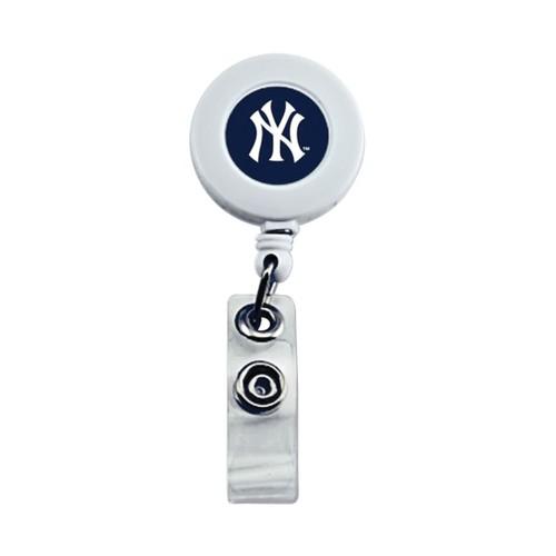 New York Yankees Retractable Badge Reel Id Ticket Clip