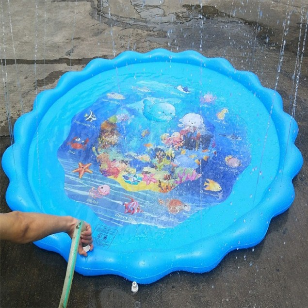 "63"" Sprinkler Pad & Splash Play Mat"