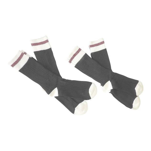 6 Pairs Women's Wool Blend Thermal Boot Socks