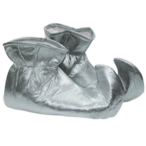 Silver CLOTH Elf Shoes