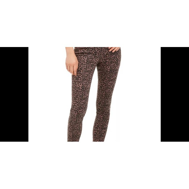 Rewash Juniors' Printed Skinny Jeans Purple Size 7