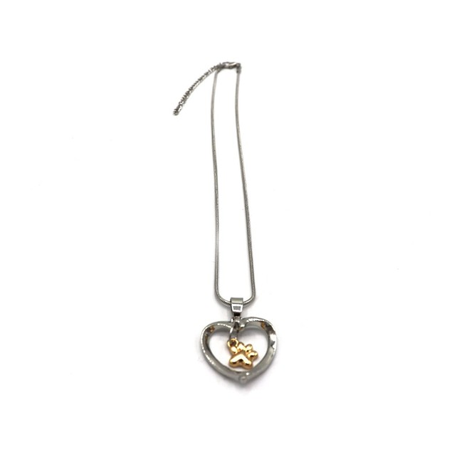 Novadab Paw 'N Heart Necklace