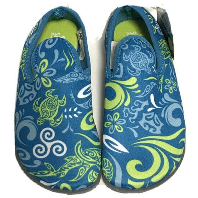 Aqua Leisure Sun Smart Hi-Top Water Shoes for Toddlers, Medium: 7/8,