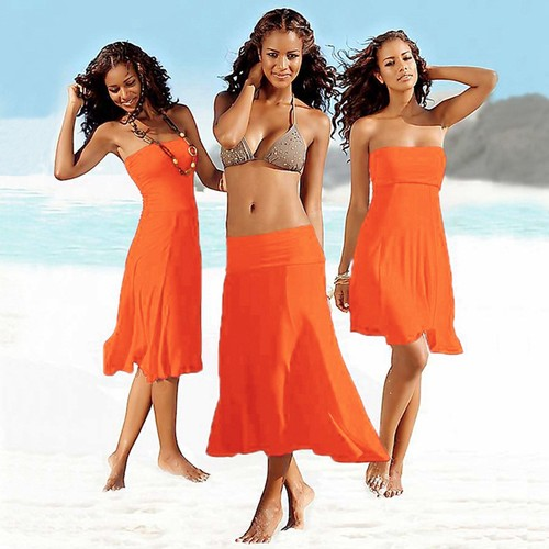 Wear More Beach-wrapped Mid-length One-piece Dress