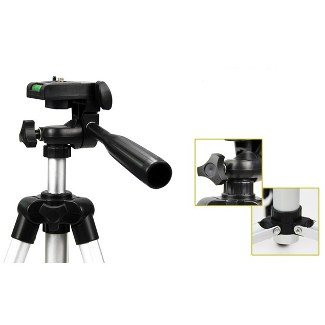 Portable Universal Standing Tripod for Sony Canon Nikon Olympus Camera