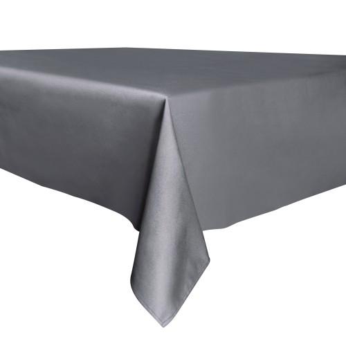 Decorative Home Tablecloth - 137cm x 200cm | Pukkr Dark Grey