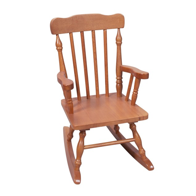 Gift Mark Childs Spindle Rocking Chair (Honey)