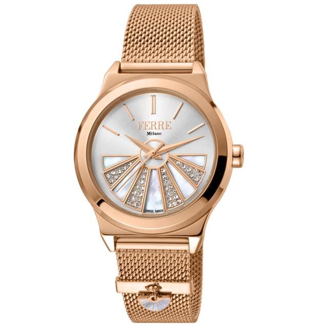 Ferre Milano Women's Classic White Dial Watch - FM1L125M0071