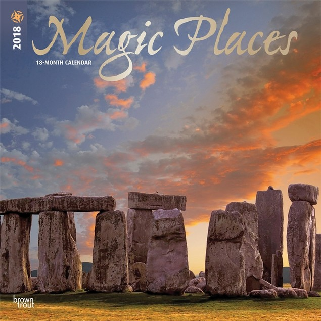 Magic Places Wall Calendar, Nature by Calendars