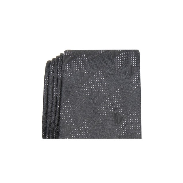 Alfani Men's Slim Abstract Tie Black Size Regular