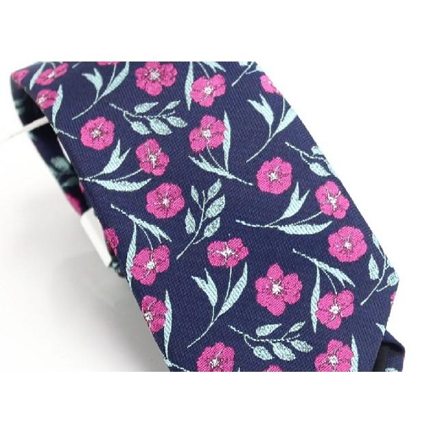 Bar III Men's Horizon Skinny Floral Tie Blue One Size