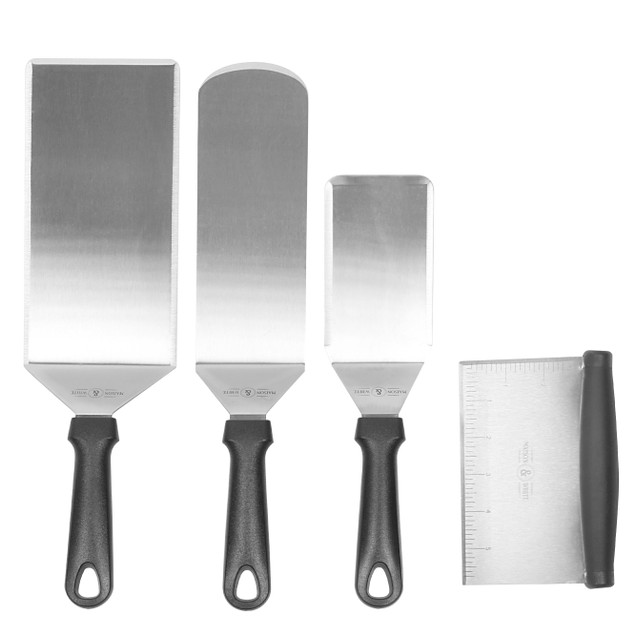4pc. Stainless Steel Spatula Set | MandW