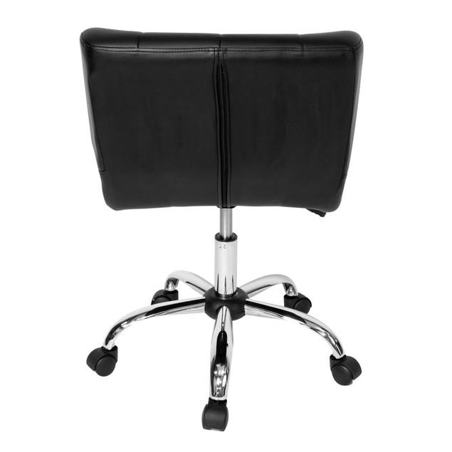 Studio Designs Black Crest Office Chair - Chrome/Black