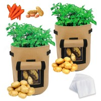 Deals on Double Open Sided Potato Vegetable Planting Grow Bag