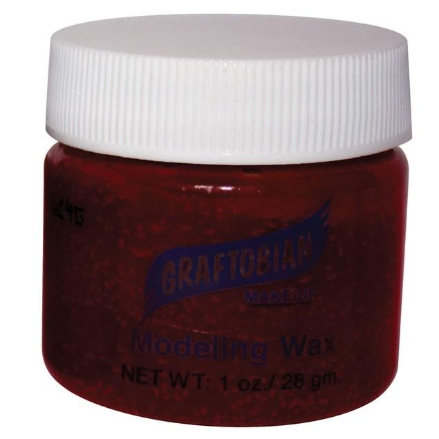 Blood Colored - Modeling Wax 1oz. Graftobian Cruelty Free USA Professional