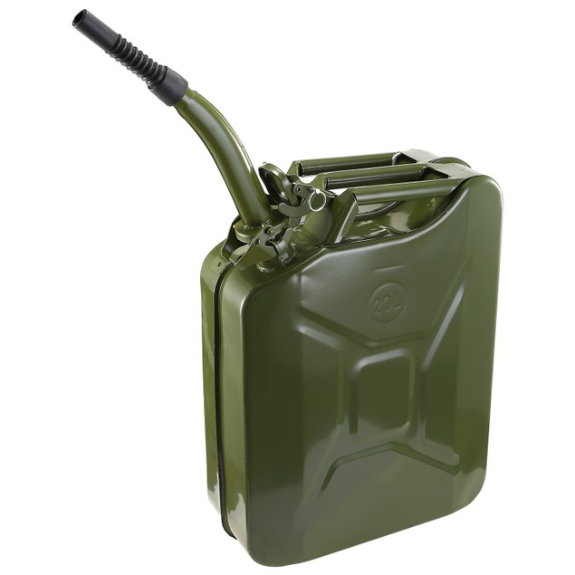 20L Gas Can 5 Gallon Spill Proof Gasoline Fuel Jerry Can
