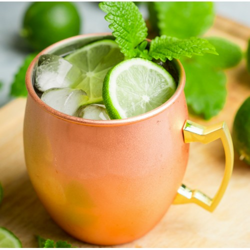 Moscow Mule Copper Mug - Holds 16 Ounces