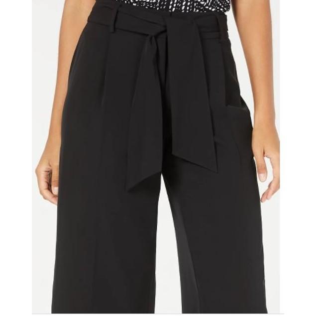 Alfani Women's Belted Culottes Black Size 2 Petite