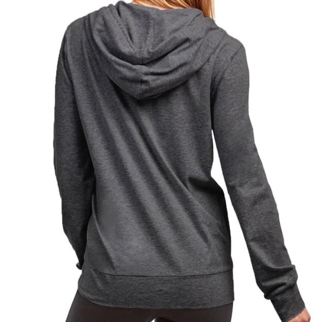 Women's French Terry Fleece Full-Zip Up Hoodie