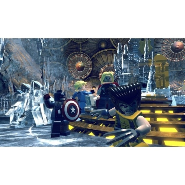 Lego Marvel Super Heroes Game PS4