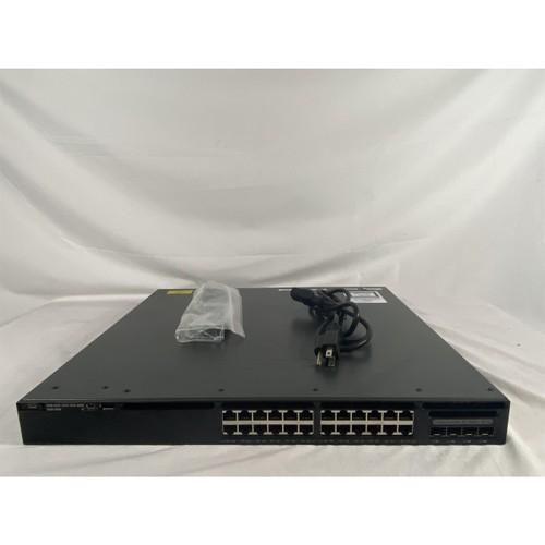 CISCO WS-C3650-24PS-L 24-Port POE+ Switch Single AC (Refurbished)
