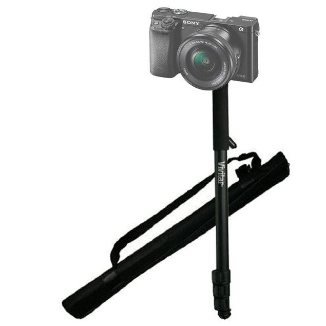 """62"""" Vivitar Monopod With Case for Sony Alpha Mirroless Cameras"""